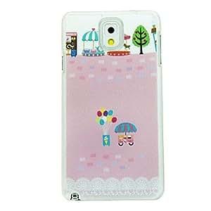 GX Teléfono Móvil Samsung - Cobertor Posterior - Diseño Especial - para Samsung Galaxy Note 3 ( Multi-color , Plástico )