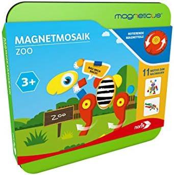 noris 606041770 Magneticus Magnetmosaik-Zoo