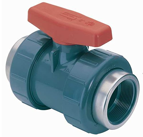 Epdm Socket (Spears 4529-020 PVC Schedule 80 Industrial Ball Check Valve, Socket and Threaded, EPDM, 2-Inch)