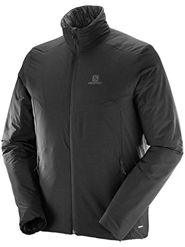 Salomon Drifter Jkt M - Chaqueta para Hombre Black/Forged Iron