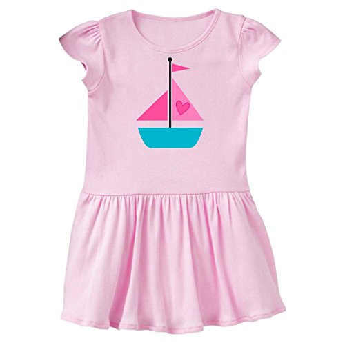 Pink Sailboat - inktastic Valentine Sailboat Toddler Dress 2T Ballerina Pink d462