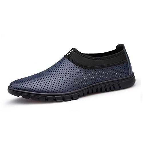 Verano Zapatos Zapatos YXLONG Hombres De Zapatos Negocios LegswithArran De Cuero De withholes Suaves Zapatos De De Transpirables Los Hombres Los Casuales Huecos Pxqw7FPa