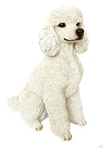 Dog - Poodle Sitting - White - Dog Sitting Charm