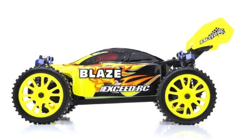 (Exceed RC 1/16 2.4Ghz Blaze EP Electric RTR Off Road Buggy Fire Yellow)