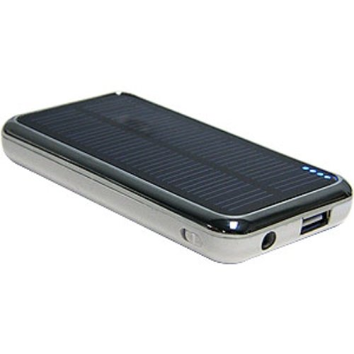 Amzer PowerBAR 3500 mAh AMZ20799 Solar Battery Charger by Amzer