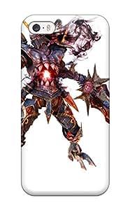 Defender Case For Iphone 5/5s, Soul Calibur Fantasy Warrior Game Anime Pattern