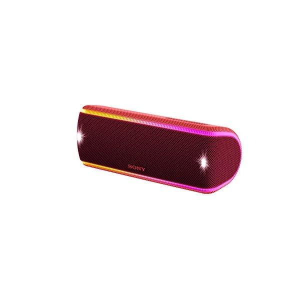 Sony SRS-XB31 Enceinte portable sans fil Bluetooth Waterproof avec effets lumière - Rouge 2