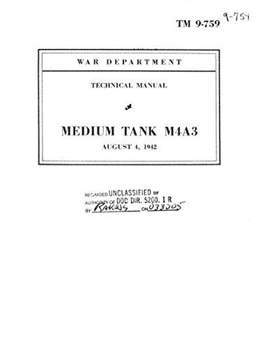 (M4A3 Sherman  Medium Tank Technical Manual: TM9-759, 1942)