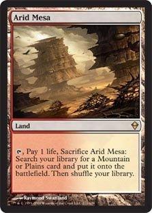 Magic: the Gathering - Arid Mesa (211) - Zendikar - Foil