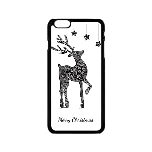 Retro Deer Frolic Play Lovely Interesting Design Iphone 6 4.7 Case Shell Cover (Laser Technology) by icecream design