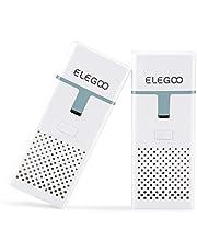 ELEGOO Mini Luchtreiniger met Actieve Koolfilter en Universele Adapter voor LCD, DLP, MSLA Resin 3D Printer (Set van 2)