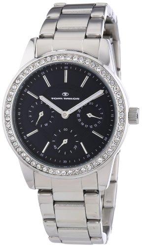 TOM TAILOR Damen-Armbanduhr Analog Quarz Edelstahl 5411801