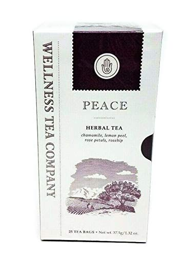 - Wellness Tea Company PEACE Herbal Tea 25 Tea Bags