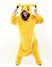 Unisex Adult Pajamas Cosplay Costume Animal Onesie Sleepwear Nightwear(FBA)