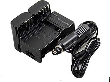 2 baterías D-Li90 + Cargador para cámara Pentax DLi90 D ...