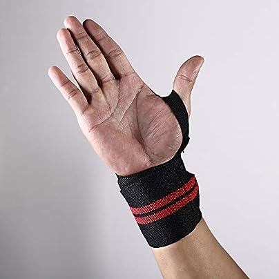 JINHONGH Sports Wristband Free Adjustment Hand Pressure Strength Winding Strap Color Black Estimated Price £13.35 -