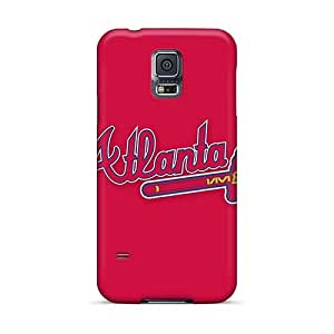 Scratch Protection Hard Cell-phone Cases For Samsung Galaxy S5 (lSd21221qAbm) Provide Private Custom Attractive Baseball Atlanta Braves 6 Pictures