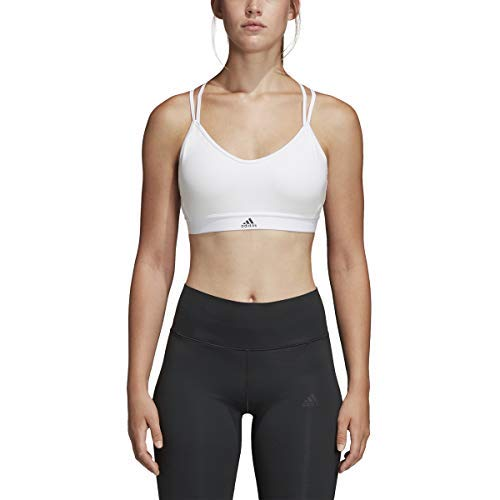 adidas Training All Me Strappy Bra, White, X-Large