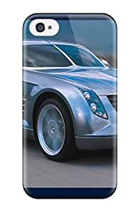 Shock-dirt Proof Chrysler Crossfire Blue Car Case Cover For Iphone 4/4s