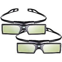 Emgreat&reg 144Hz 3D DLP-Link Active Shutter Glasses For Optoma/BenQ/Acer/ LG Projector