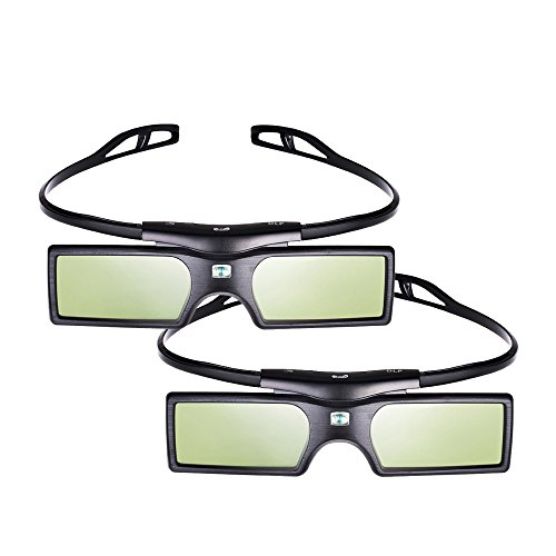 Emgreat® 144Hz 3D DLP-Link Active Shutter Glasses For Optoma/BenQ/Acer/ LG Projector