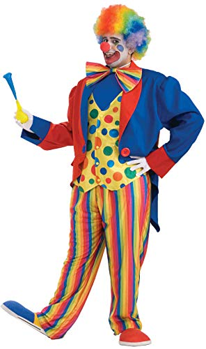(Forum Novelties Men's Plus-Size Big Fun XXX-Large Clown Costume, Multi,)