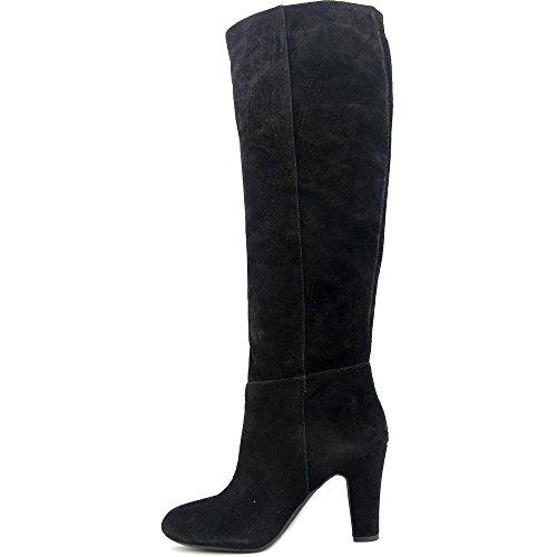 Jessica Simpson Womens ference Leder Geschlossene Zehe Kniehohe Mode Stiefel Schwarz