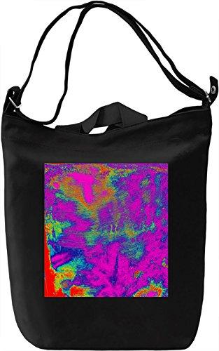 Colorful Pattern Borsa Giornaliera Canvas Canvas Day Bag  100% Premium Cotton Canvas  DTG Printing 