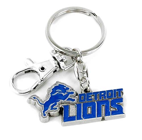 aminco Detroit Lions - NFL Heavyweight Key Tag with Clip