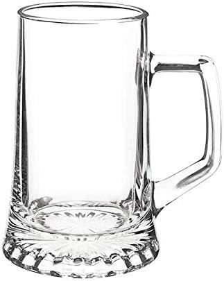 Bormioli Rocco 133640337 - Jarra de cerveza, 510 ml, cristal, transparente, 6 unidades