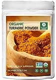 Premium Quality Organic Turmeric Root Powder with Curcumin (1lb), Gluten-Free & Non-GMO (16 ounces) | Indian Seasoning.