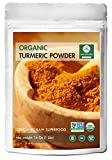 Premium Quality Organic Turmeric Root Powder with Curcumin (1lb), Gluten-Free & Non-GMO (16 ounces) | Indian Seasoning.