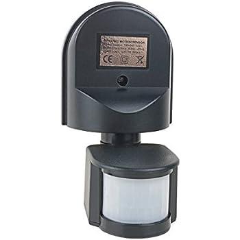 eDealMax Sensor de movimiento interruptor interruptor de luz del Sensor de CA 110V-240V al aire Libre Ajustable de infrarrojos Cuerpo Movimiento PIR Sensor ...