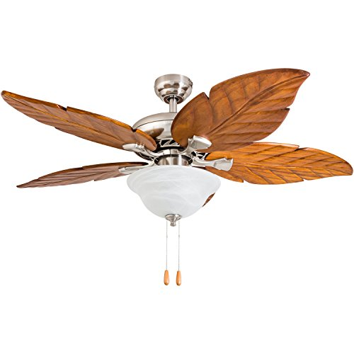 (Prominence Home 50663-01 Rosemary Tropical Ceiling Fan, 52