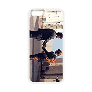 iPhone 6 4.7 Inch Cell Phone Case White Pink Floyd Rock Band PZR Phone Case For Guys Custom