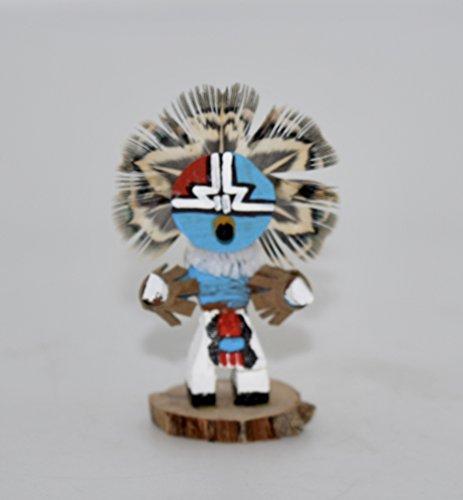 Miniature Chief Kachina (Kachina Owl Doll)