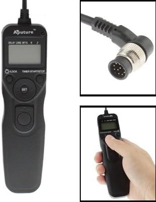 Hyx ShutterContro for camrea Aputure AP-TR1N LCD Timer Remote Cord for Nikon D300s, D3X, D3, D700, D300, D200, D2Xs, D2Hs,D2X, D2H, D1H, D1X, D1, N90s, F5, F6, F100, F90, F90X, D4, D800, D3S, D800E,
