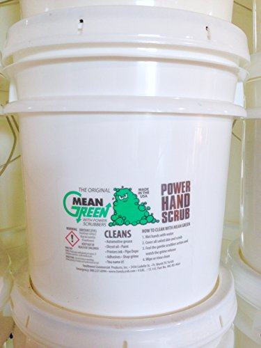 Mean Green Power Hand Scrub (4 Gallon Pail)- Most Product for Your Money!