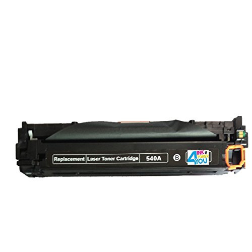 Ink & Toner 4 You ® Compatible Black Laser Toner Cartridge for HP CB540A (125A) Works With HP Color LaserJet CP1210 Color LaserJet CP1215 Color LaserJet CP1515N Color LaserJet CP1518NI Color Laserjet CM1312 MFP Color Laserjet CM1312NFI - 2,200 Page Yield