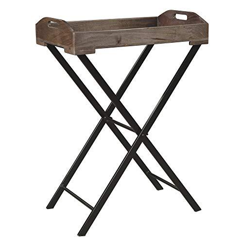 - Signature Design by Ashley A4000019 Ashley Furniture Signature Design-Cadocridge Accent Table, Gray