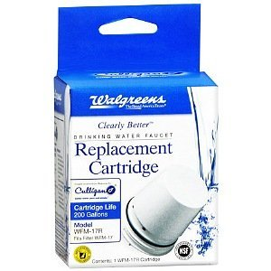 1 X Clearly Better Drinking Water Faucet Replacement Cartridge WFM-17R by Water Faucet
