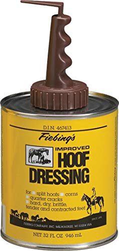 Fiebling Hoof Dressing w/Brush - 1 Qt.