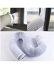 ZXC Airconditioner uitlaatpijp ventilatieslang flexibele uitlaat 150 mm draagbare airconditioner uitlaat ventilatiepijp ventilatie kanaal slang