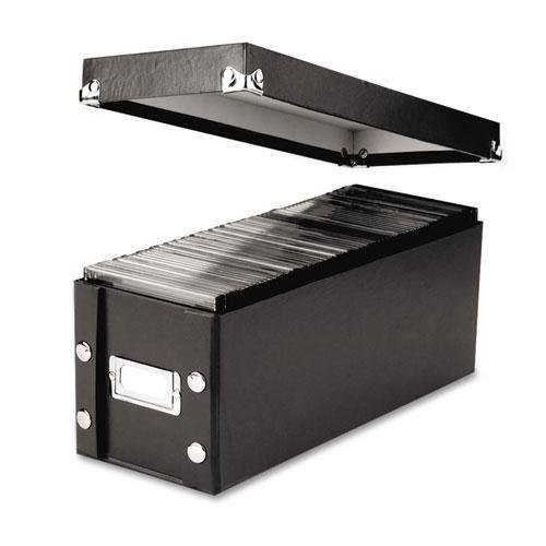 NEW - CD Storage Box, Holds 60 Slim/30 Std. Cases - SNS01521