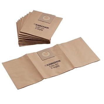 12 Staubbeutel für Kärcher NT 501 Profi Staubsaugerbeutel Filter-säcke Tüten