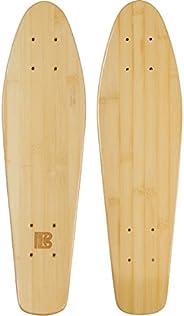 """Bamboo Skateboards Mini Cruiser Blank Skateboard Deck, 6""""x"""