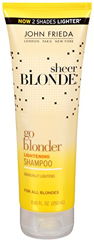 Price comparison product image John Frieda Sheer Blonde Go Blonder Lightening Shampoo, 8.45 Fluid Ounce (Pack of 2)