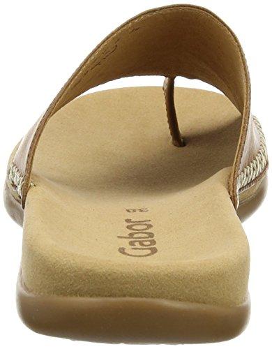 Donna Gabor Peanut 24 Marrone Ciabatte Shoes Fashion rSBr1