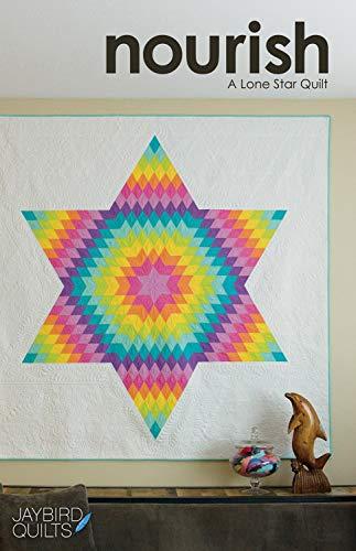 Jaybird Quilts JBQ177 Nourish A Lone Star Quilt Pattern, None (Lone Star Quilt Pattern)
