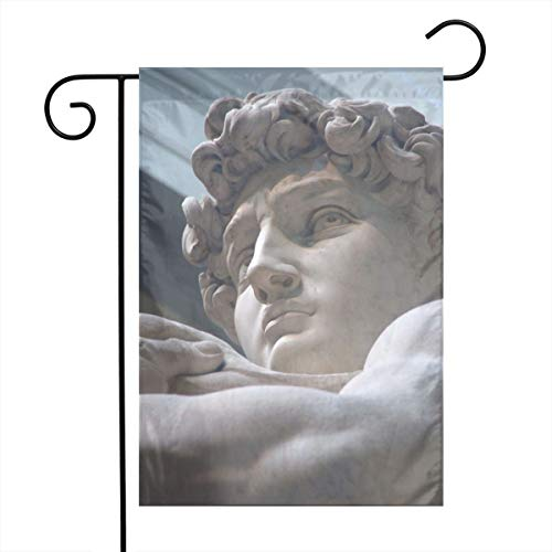 Angels Fly Mouth Profile Handsome Statue David Spring Family Unique Garden Flag Welcome America Courtyard Outdoor Decoration Logo -